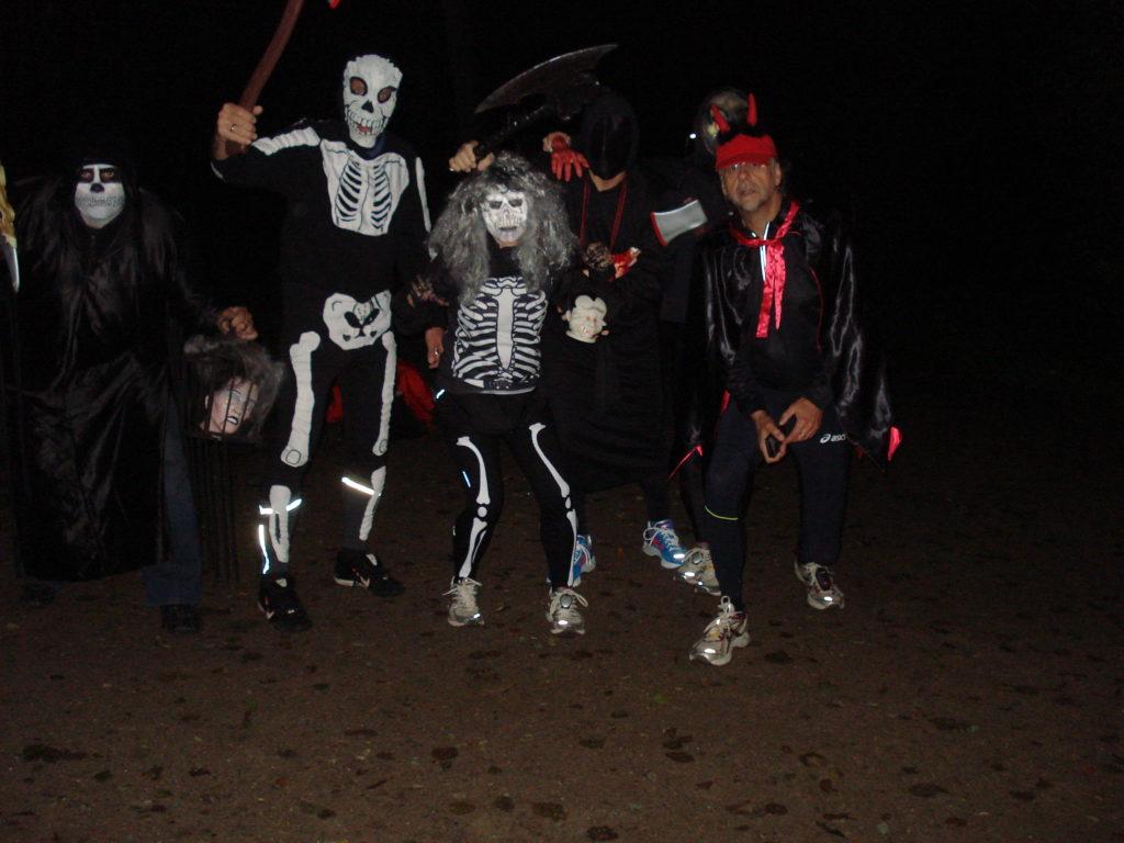 Erster Halloween-Lauf